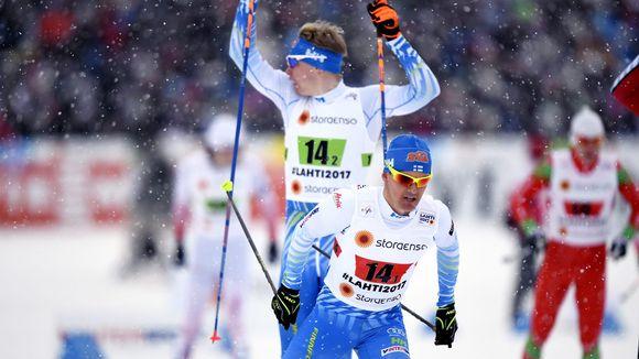 Sami Jauhojärvi ja Iivo Niskanen