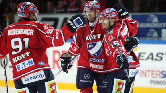 HIFK juhli liigakauden avauksessa.