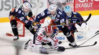 Tappara kohtasi HIFK:n 13.12. 2014