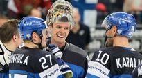 Leijonat iloinen Pekka Rinne