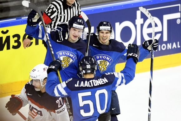 Juhamatti Aaltonen, Joonas Kemppainen ja Antti Pihlström.
