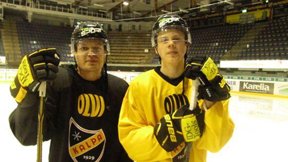Sami ja Kasperi Kapanen.