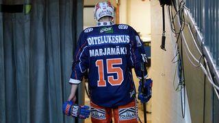 Masi Marjamäen peli päättyi lyhyeen lauantain.
