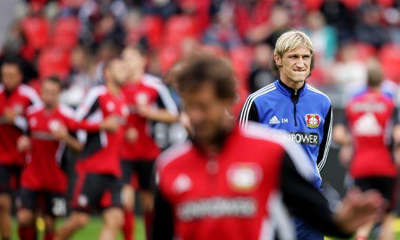 Leverkusenin vastuuvalmentaja Sami Hyypiä