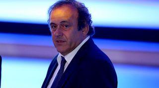 Uefan puheenjohtaja Michel Platini