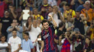 Leo Messi iski kaksi maalia Elchen verkkoon