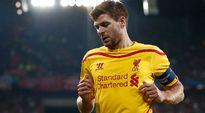 Liverpoolin Steven Gerrardin ilta päättyi pettymykseen Baselissa.