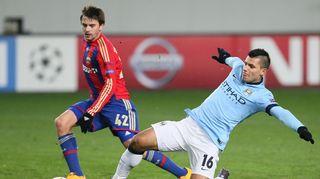 Manchester City Sergio Agüero on huimassa vireessä