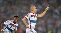 Video: Bayern Münchenin Arjen Robben iski kaksi maalia Roman verkkoon