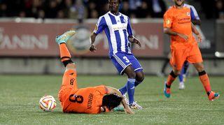 Jatkaako Gideon Baah hyviä otteitaan myös Torinoa vastaan?