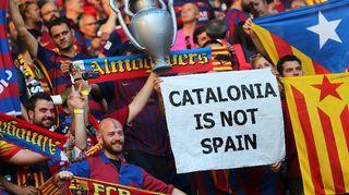 FC Barcelonan fanit Mestarien liiga -finaalissa