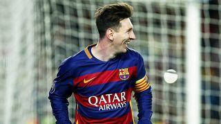 Lionel Messi kuvassa