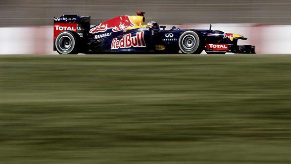Sebastian Vettel Red Bull F1
