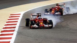 Fernando Alonso on ollut alkukaudella Kimi Räikkösen edellä.