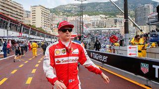 Kimi Räikkönen kuvassa