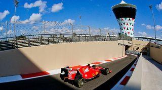 Räikkönen, Abu Dhabi