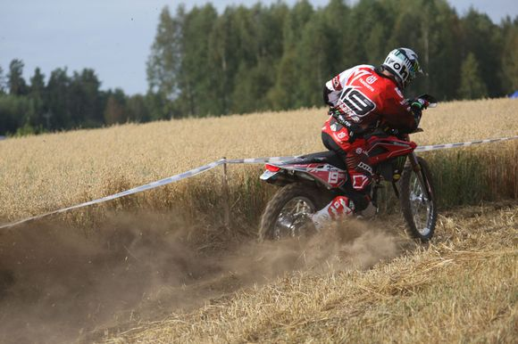 Juha Salminen Heinolan MM-endurossa