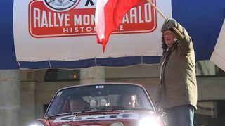 Björn Waldegård lähetti kilpailijoita matkaan Monte Carlon historic-rallissa.
