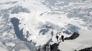 Kuvaa Annapurnan vuorelta
