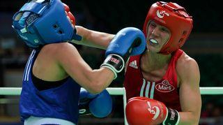 Mira Potkonen Qinhuangdaon MM-kisoissa 2012.