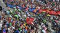 Italian ympäriajon 10. etapin lähtö.