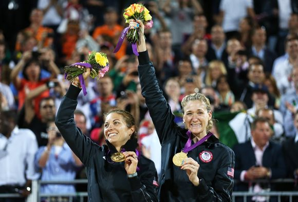 Misty May-Treanor ja Kerri Walsh Jennings