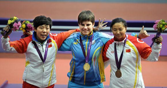 Qing Wu, Mariia Pomazan ja Jiongyu Bao