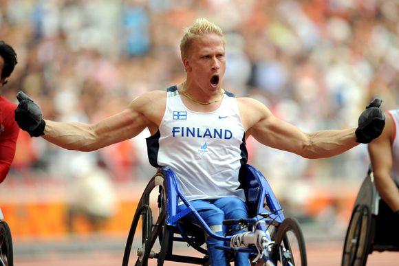 Leo-Pekka Tähti Pekingin paralympialaisissa