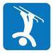Freestylen hyppyjen pictogrammi