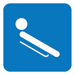 Ohjaskelkkailun pictogrammi