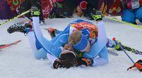 Video: Iivo Niskanen ja Sami Jauhojärvi juhlivat olympiavoittoa.