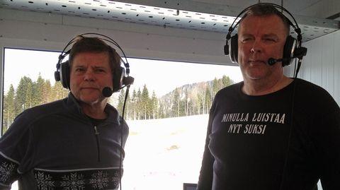 Jarmo Lehtinen ja Reijo Jylhä.