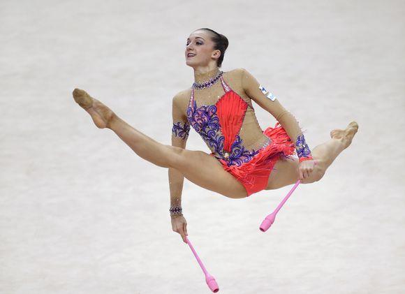 Clasificadas Gimnasia Ritmica Rio 2016 Imagenes