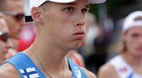 Aleksi Ojala yleisurheilun 23-vuotiaiden EM-kisoissa Tampereella. 10.7.2013