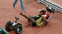 Video: Usain Bolt segway kolari