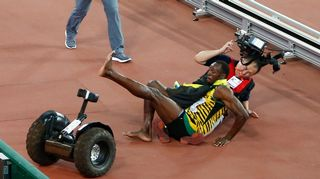 Video: Usain Bolt segway kolari