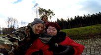 Video: Irja Leppänen ulkoili Lahdessa #hyväteko-kampanjaan osallistujien kanssa.