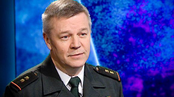 Rajavartiolaitoksen apulaispäällikkö Ilkka Laitinen.