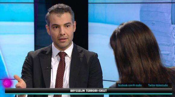 CMI:n asiantuntija Hussein al-Taee.