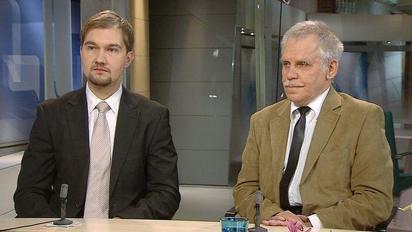 Video: Puhetaidon kouluttaja Juhana Torkki ja Tampereen yliopiston politiikan tutkija Pertti Timonen.