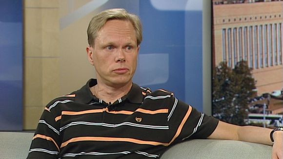Tuomas Ojanen Aamu-tv:n vieraana 9. kesäkuuta 2011.