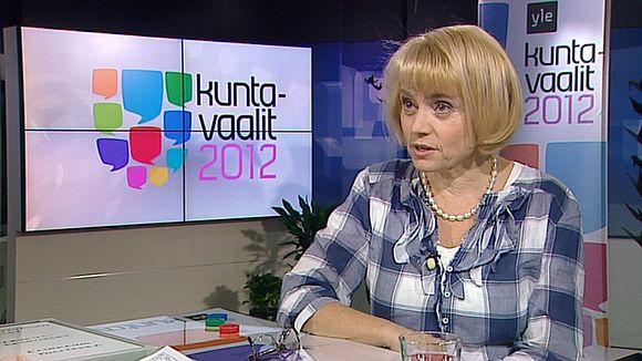 Video: Sisäministeri Päivi Räsänen Ylen Aamu-tv:ssä.