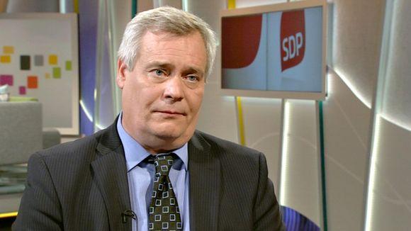 Video: Valtiovarainministeri Antti Rinne Ylen aamu-tv:ssä tiistaina.