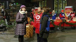Video: Sari Huovinen haastattelee Anne Laurinsiltaa ja Milla Kalliomaata Helsingin päärautatieasemalla 21. marraskuuta.