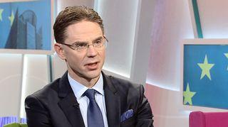 Jyrki Katainen Aamu-tv:n vieraana 5. maaliskuuta 2015.