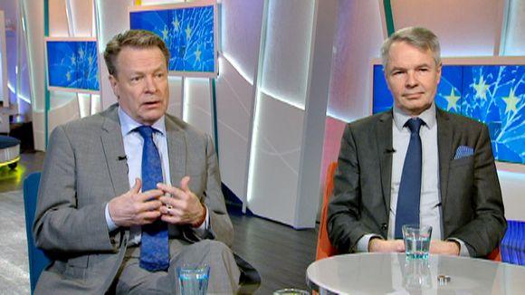 Video: Ilkka Kanerva ja Pekka Haavisto.