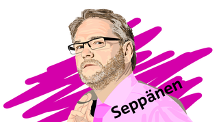 Timo Seppänen Näkökulma-kuva piirros