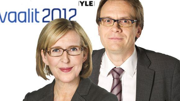 Riikka Uosukainen ja Heikki Ali-Hokka