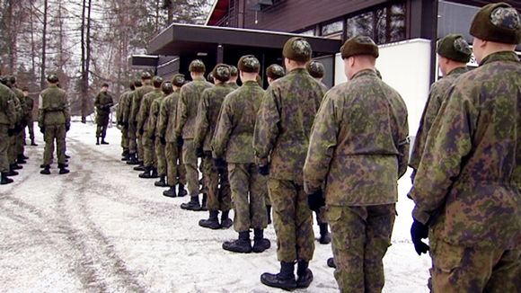 Video: Varusmiehiä Pohjois-Karjalan prikaatissa.