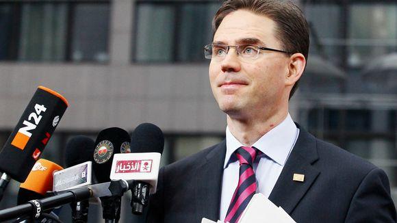 Jyrki Katainen osallistuu EU:n huippukokoukseen Brysselissä.